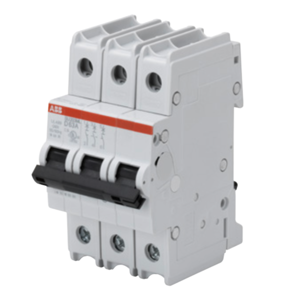 ABB SU203ML-Z40 Circuit breaker, 3P, 40 A, 230 VAC, Z trip curve, UL489