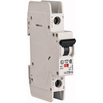 Eaton Corp FAZ-D32/1-NA-L Miniature circuir breaker, 1 pole, 32 A, D trip curve, 240 VAC, screw terminals, UL489