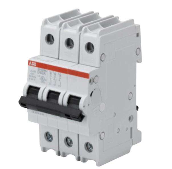 ABB SU203ML-Z50 Circuit breaker, 3P, 50 A, 230 VAC, Z trip curve, UL489