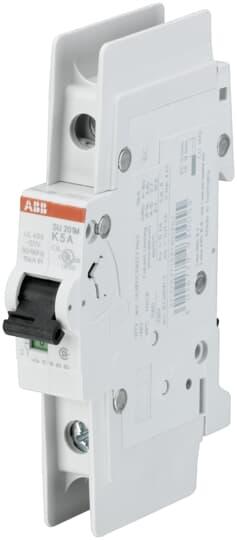 ABB SU201M-K1.6 UL489 MCB 1P K 1.6A 480/277