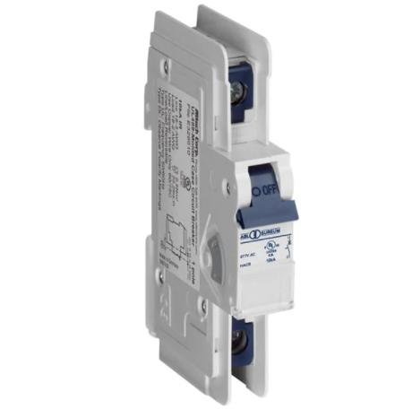 Altech Corp. 1D05UL Circuit Breaker 0.5A, 1 Pole, 277V AC, UL489