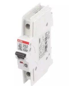 ABB S201UDC-Z20 Miniature Circuit Breaker, 1 pole, 20 A, 60 VDC, Z Curve, UL 489