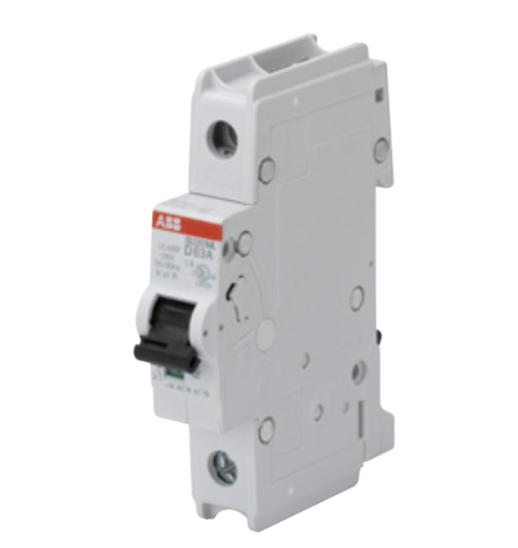 ABB SU201ML-K2 Circuit breaker, 1P, 2 A, 230 VAC, K trip curve, UL489