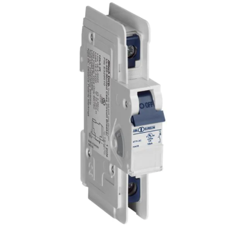 Altech Corp. 1D25DL Circuit Breaker 25A, 1 Pole, 125V DC, UL489