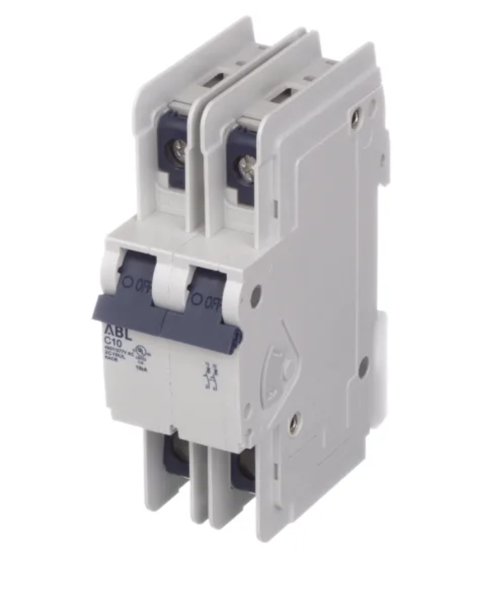Altech Corp. 2C40UL Circuit Breaker 40A, 2 Pole, 480Y/277V AC, UL489